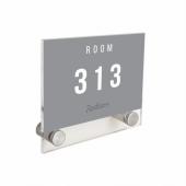 Acrylic Wall Mounted Sign Holder