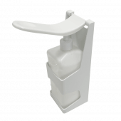 Hand sanitizer wall mount