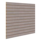 Grey Slatwall Panels 1200mm x 1200mm
