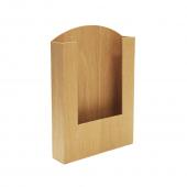Pocket Wooden Menu Holder A4