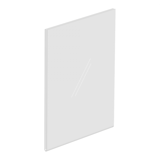 A4 WALL MOUNTED PORTRAIT ACRYLIC PLASTIC POSTER HOLDER PERSPEX