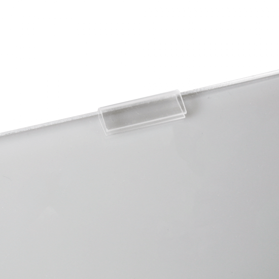 Poster Pocket for Cable and Rod Display Systems