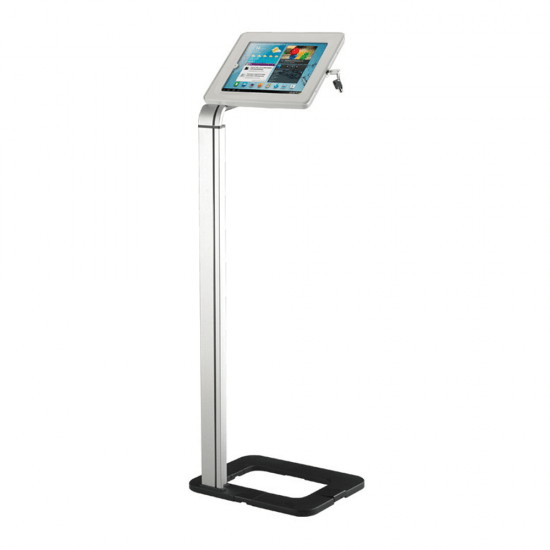 Lockable iPad Stand Holder | Floor Standing Tablet Stand | 550x550