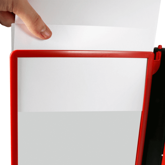 Wall Mounted Poster Flip File Book Display