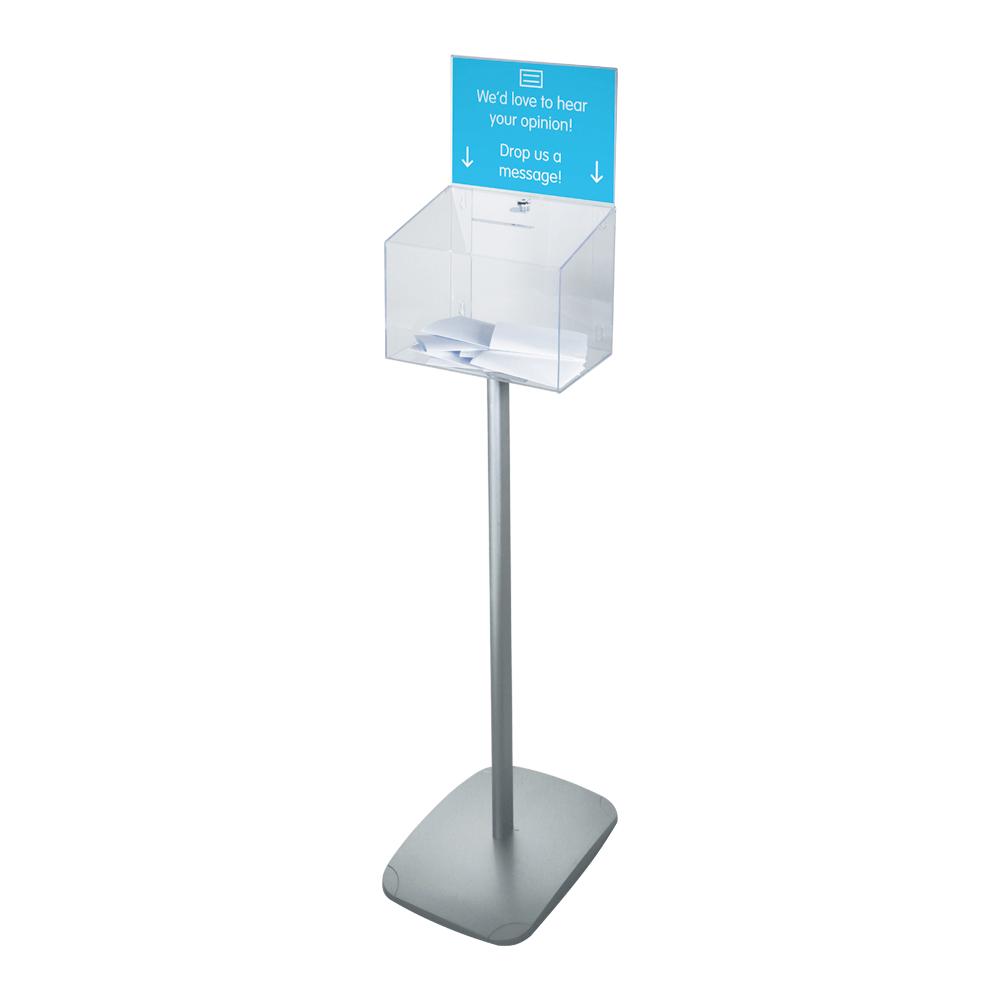 Free Standing Ballot Box With Lock