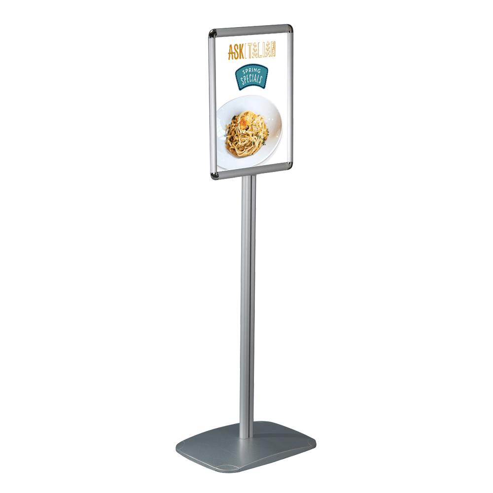 free standing poster menu board