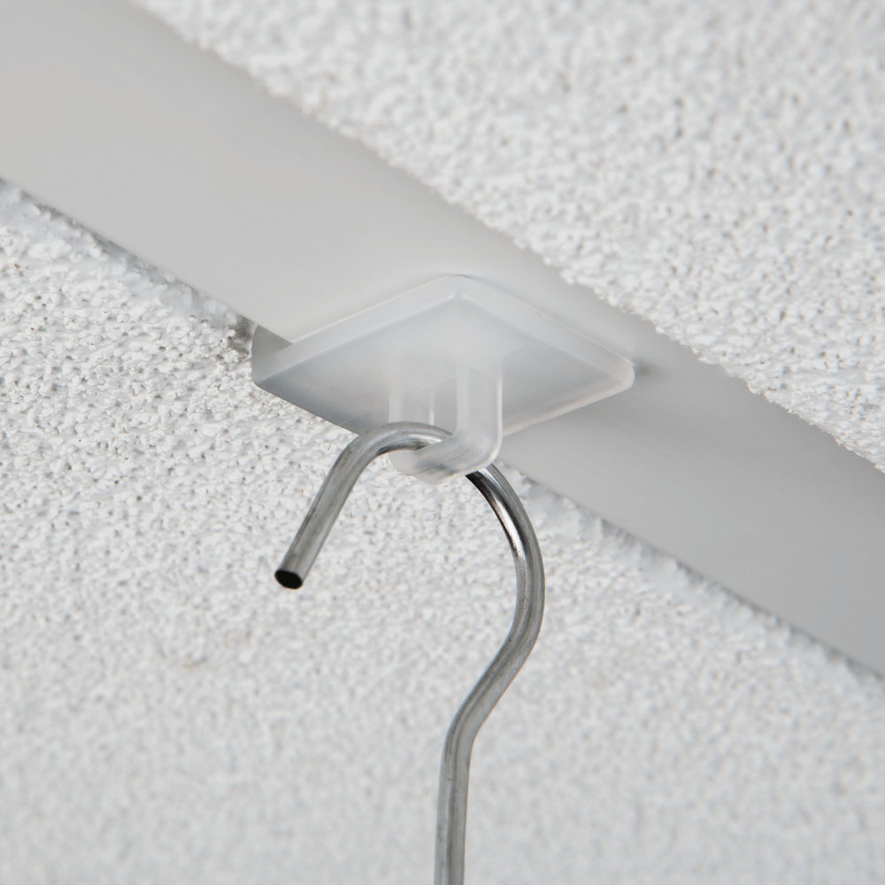 Retail Sign Board POS Hanging Kit for suspended ceiling easy install