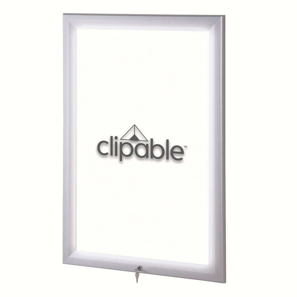 Outdoor LED Illuminated Poster Frame In A2, A1 And A0