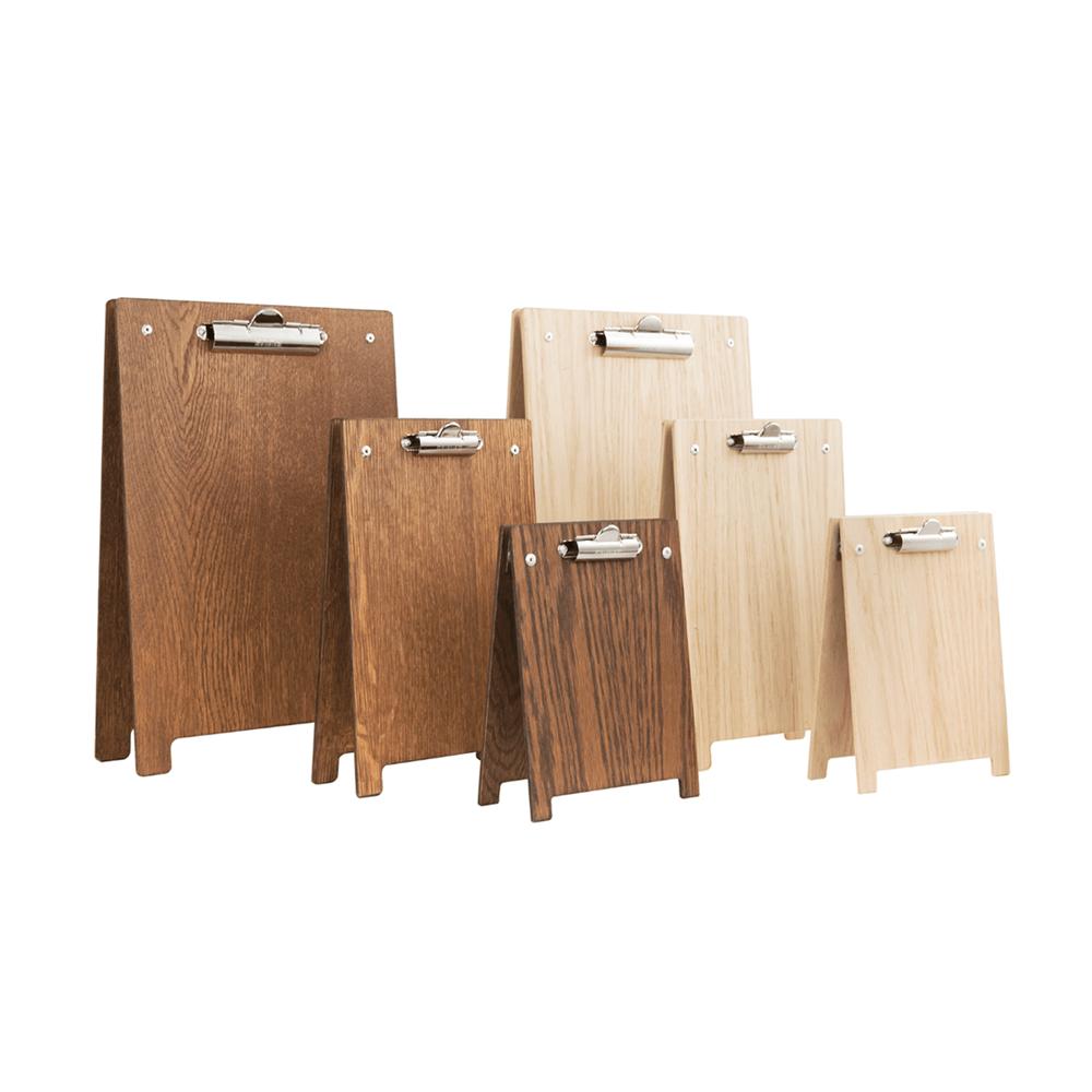 Wooden A Frame Clipboard Menu Holder A4 A5 And A6