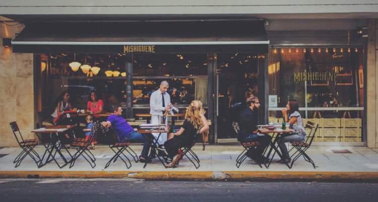 Introducing al fresco dining to your restaurant after lockdown