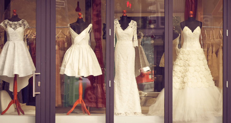 How to design a shop window display | Window display props