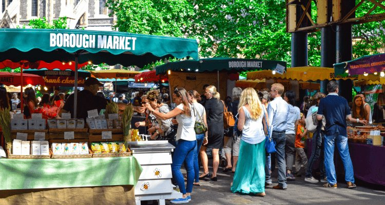 How to set up a market stall display