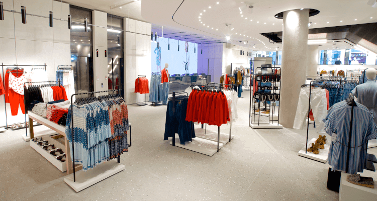 Space planning in retail stores