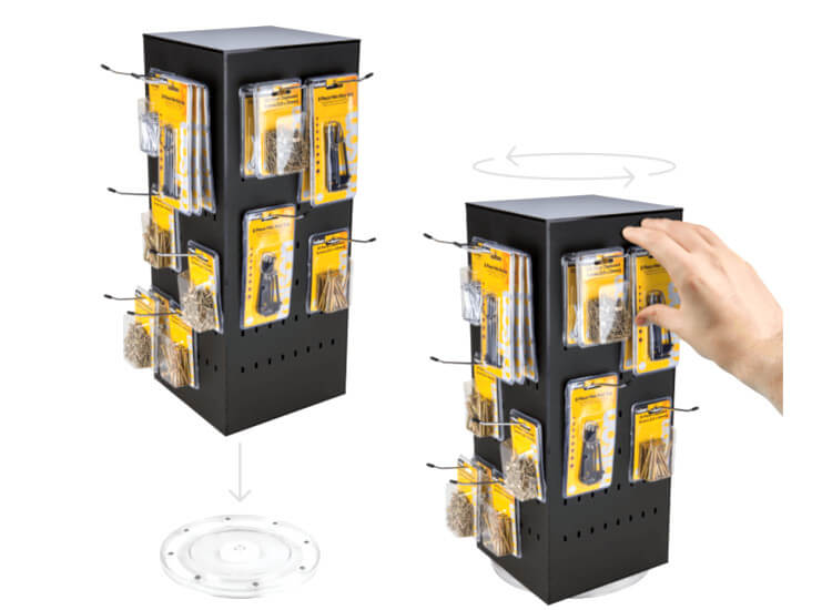 Tabletop Display Stands