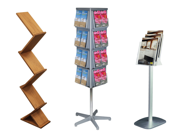 Leaflet display stand range from UK POS