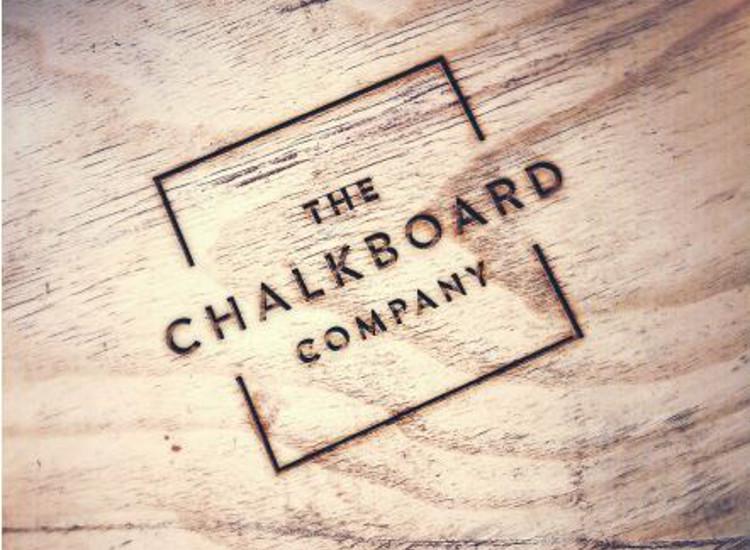 Branded chalkboards
