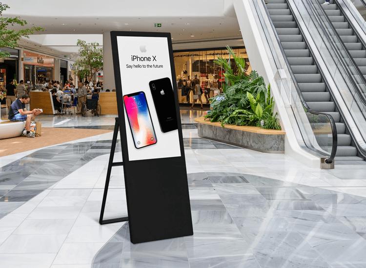 Advertising display screen