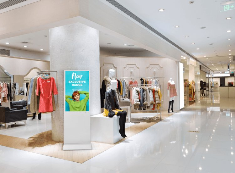 Digital display board ideas include presenting relevant products to the location