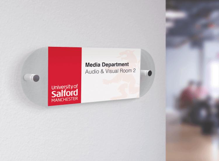 Office door signs and door plaques for businesses