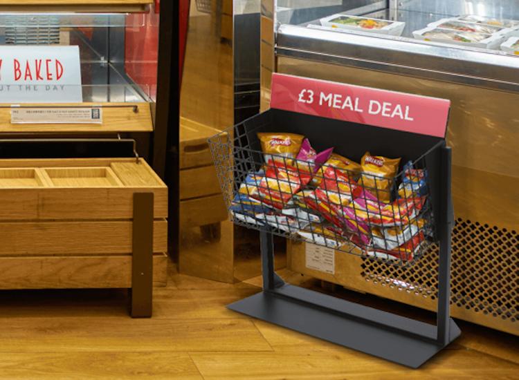 dump bin merchandising display