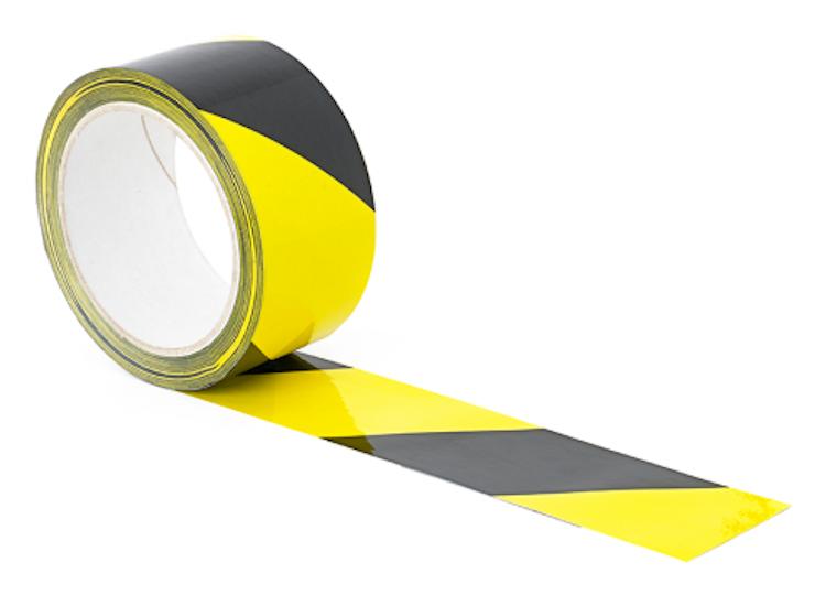 hazard warning floor tape for covid 19