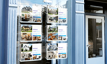Essential point of sale products for estate agents