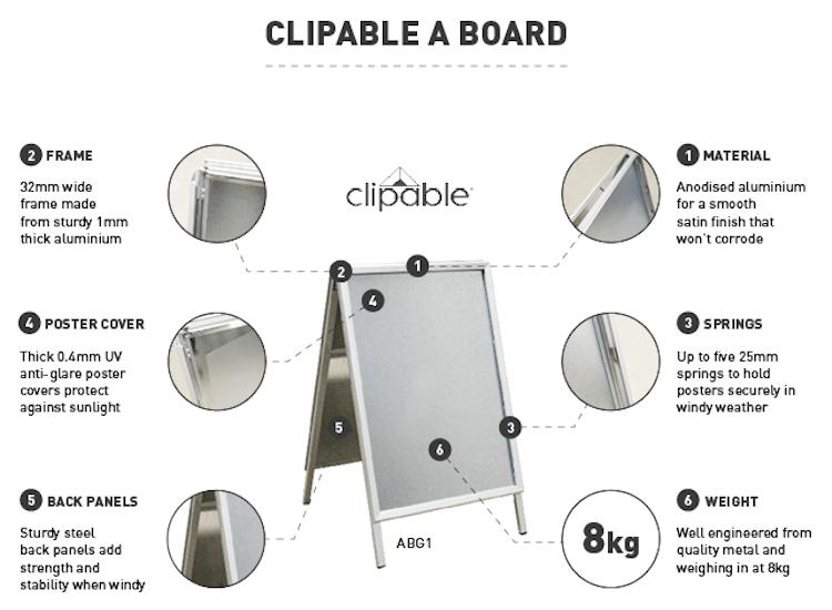 clipable a boards