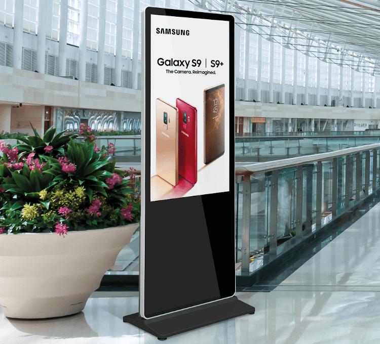digital signage displays android advertising display
