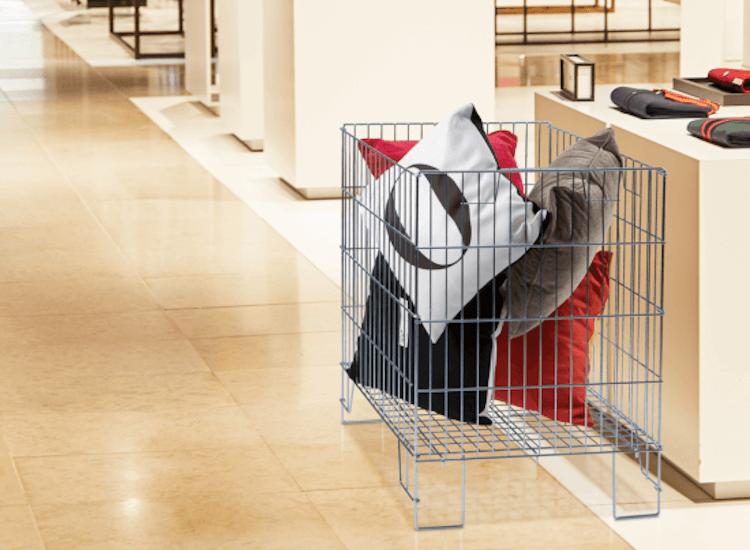 Use dump bins for retail merchandising