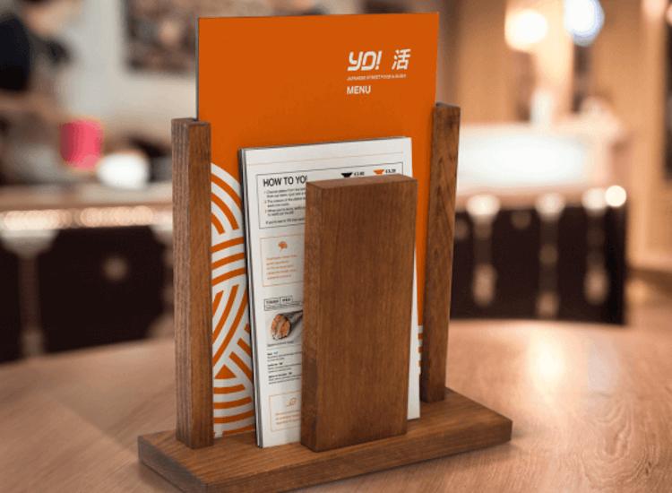 menu holder for restaurants, restaurant menu holders