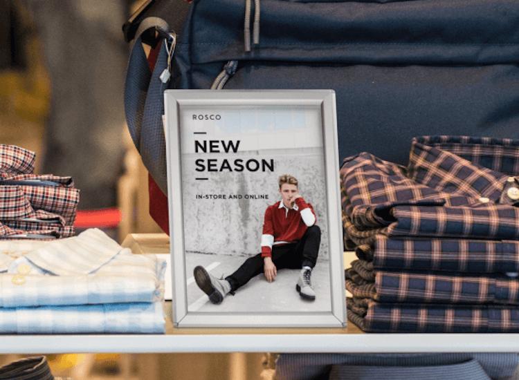 new season snap frame poster