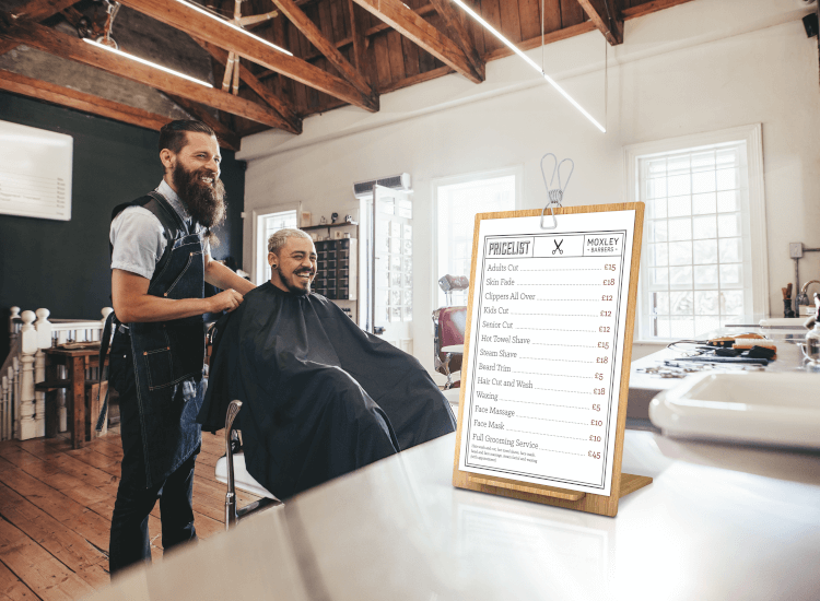 barbers price list