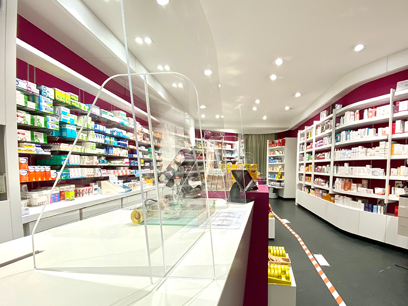 Covid supplies for shops