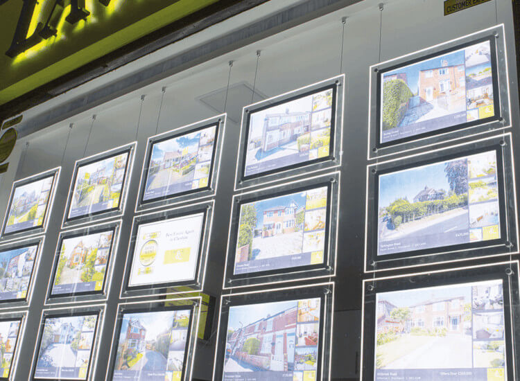 LED cable and rod window display supplies