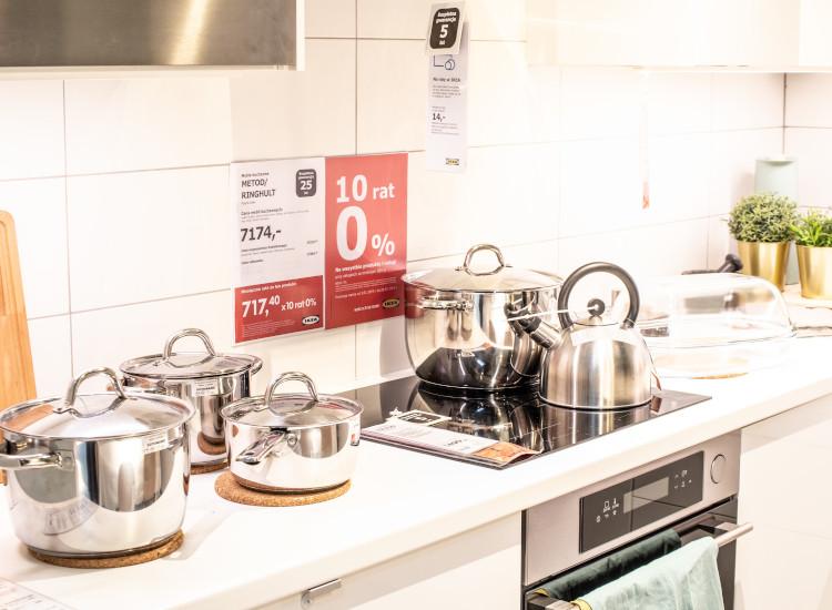 cross-selling, kitchen retail display