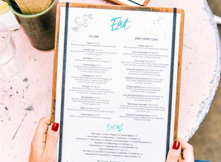 How to boost restaurant sales with descriptive menu wording