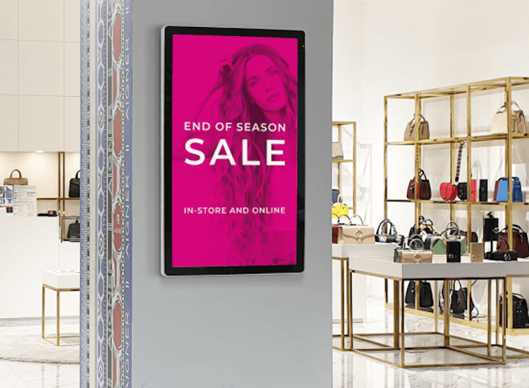 Attract customers with digital displays