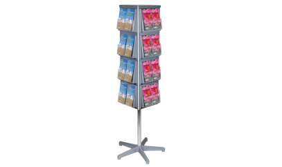 Use a flyer display stand for a wide range of flyers