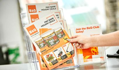 Use countertop leaflet displays to encourage uptake