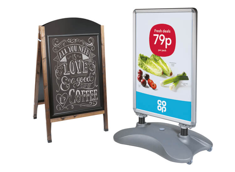 Increase footfall with outdoor signs