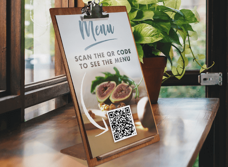 QR codes can be used as a COVID-19 measure by hospitality and retail
