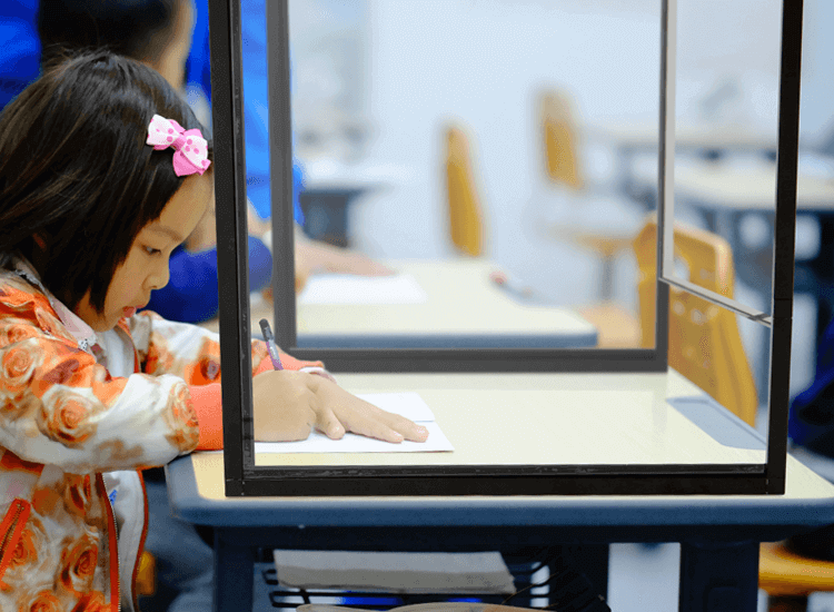 desk dividers school coronavirus