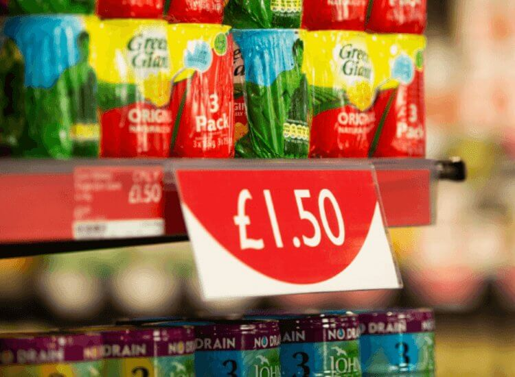 Shelf barkers and shelf advertising strips for retail promotions