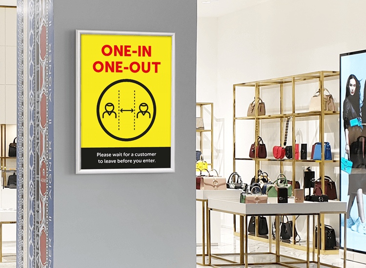 one-in-one-out system poster for black friday 2020