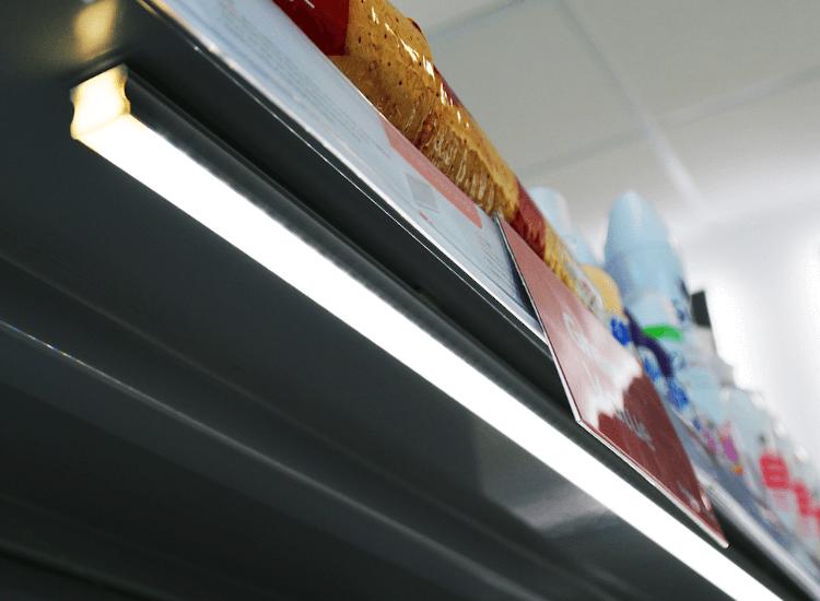 magnetic LED shelf lighting kit