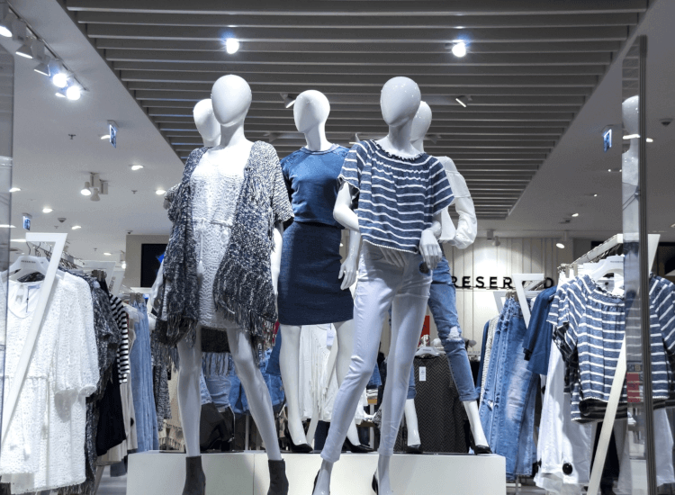Creative window display ideas using mannequins