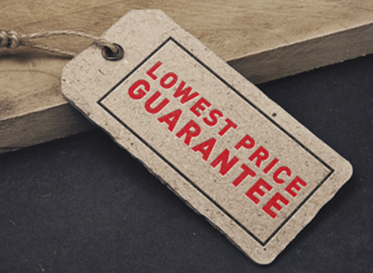 lowest price guarentee