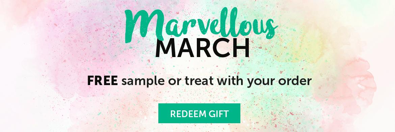 Marvellous March