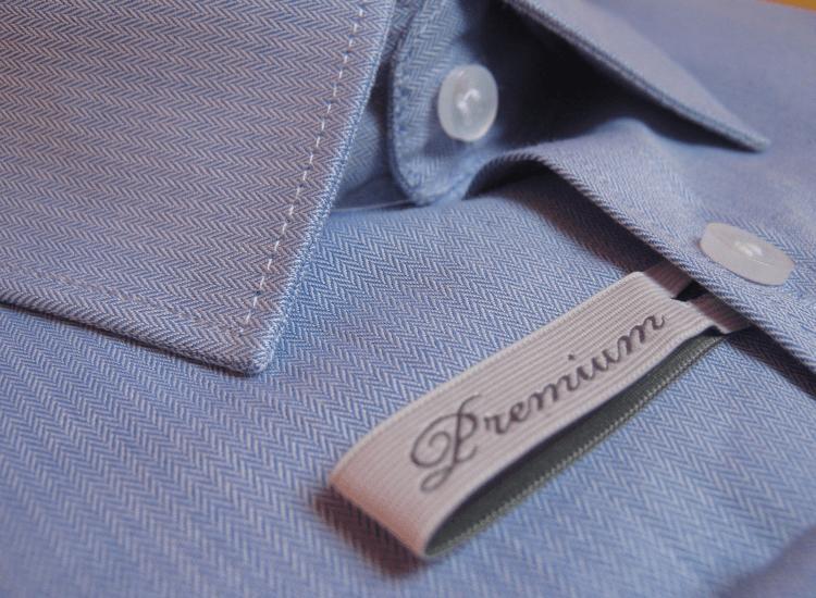 A premium garment display requires luxury merchandising