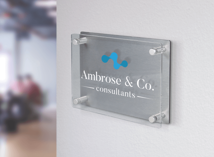 Branded acrylic products such as plaques